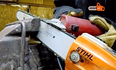 How to Sharpen a Pole Saw Blades