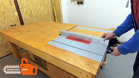How to Build a Table Saw Workstation like a Pro