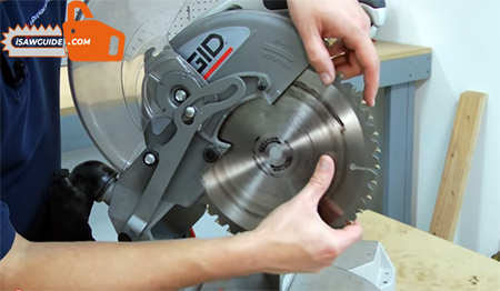 How to Change the Blade on a Miter Saws