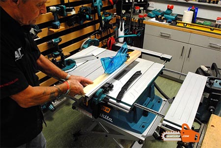 How to Usa a Table Saw