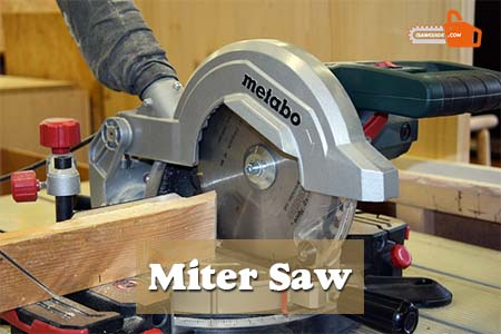 How to Unlock a Miter Saw