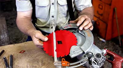How to Change the Blade on Skilsaw Circular Saw