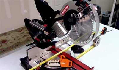 How to Unlock a Craftsman Miter Saw