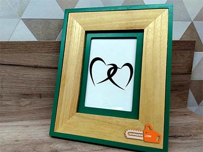 how to make a wooden picture frame out of wood trim