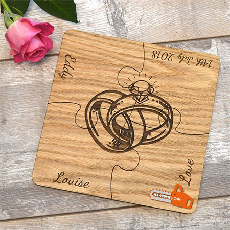 21 Personalized DIY Wooden Wedding Gift Ideas for Couples