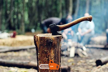 How to Split Wood with an Axe - Step by Step Guide on Splitting Wood