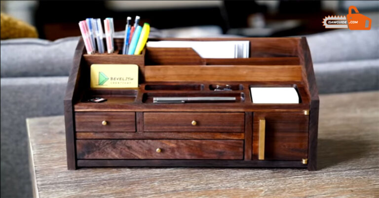 DIY Unique Wooden Desk Organizer Ideas and Projects for Beginner Woodworkers