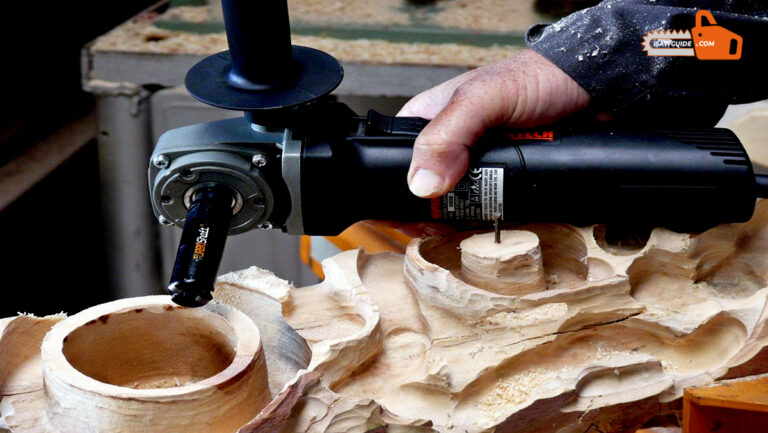 Best DIY Guide on Wood Carving with Angle Grinder