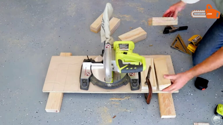 How To Make A Homemade Portable Miter Saw Table Station Easily