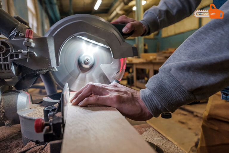 Kobalt 7 1/4-in Miter Saw Review - Sliding Compound Miter Saw Review